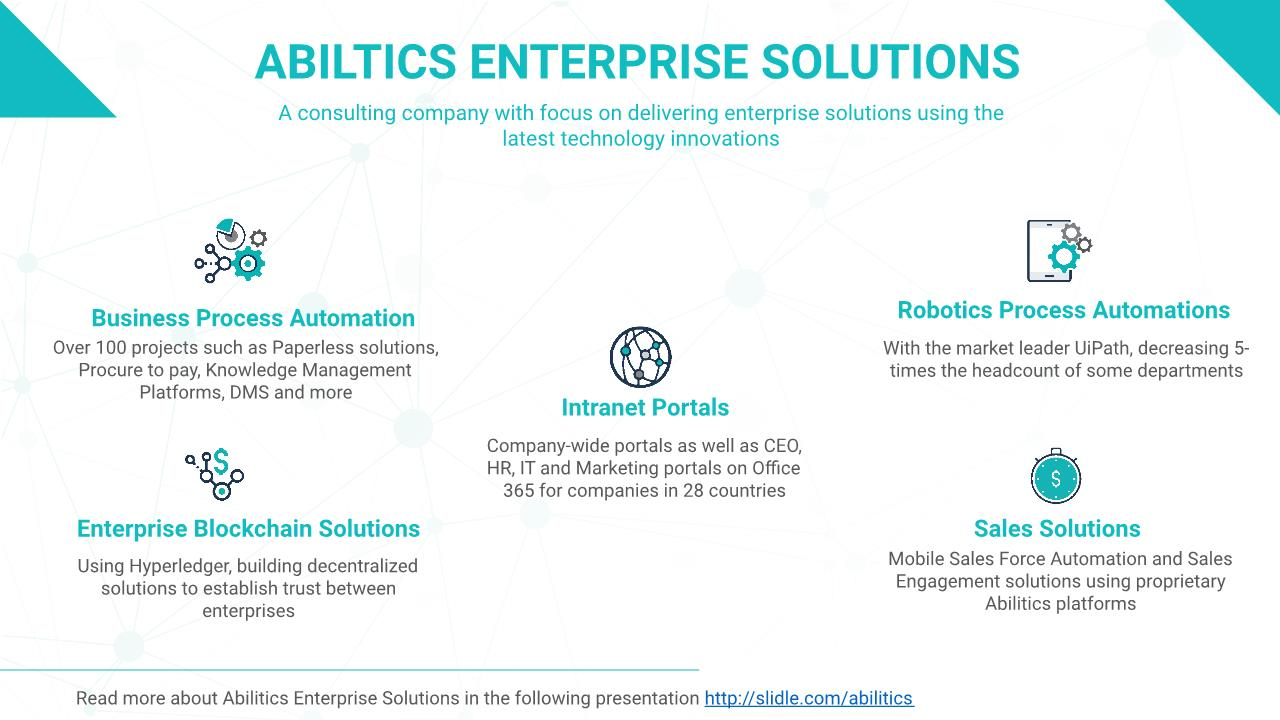 Abilitics Group Presentation | Abilitics